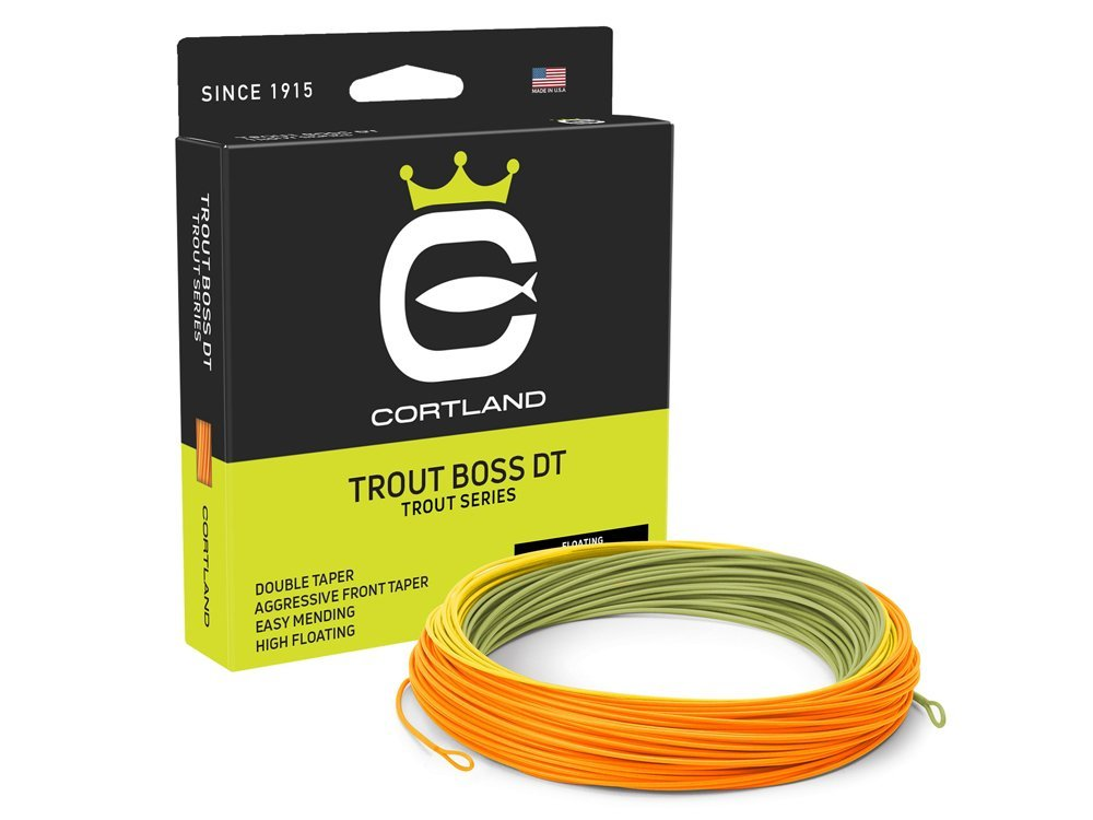 Cortland fly lines, Sufix Feeder braid, Westin lures