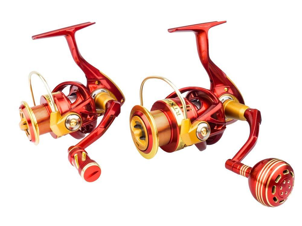Daiwa and Spro rods, Okuma limited reels, Gunki lures